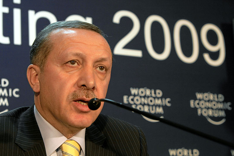 Recep Tayyip Erdogan (Bild: Andy Mettler-World Economic Forum, CC BY-SA 2.0)