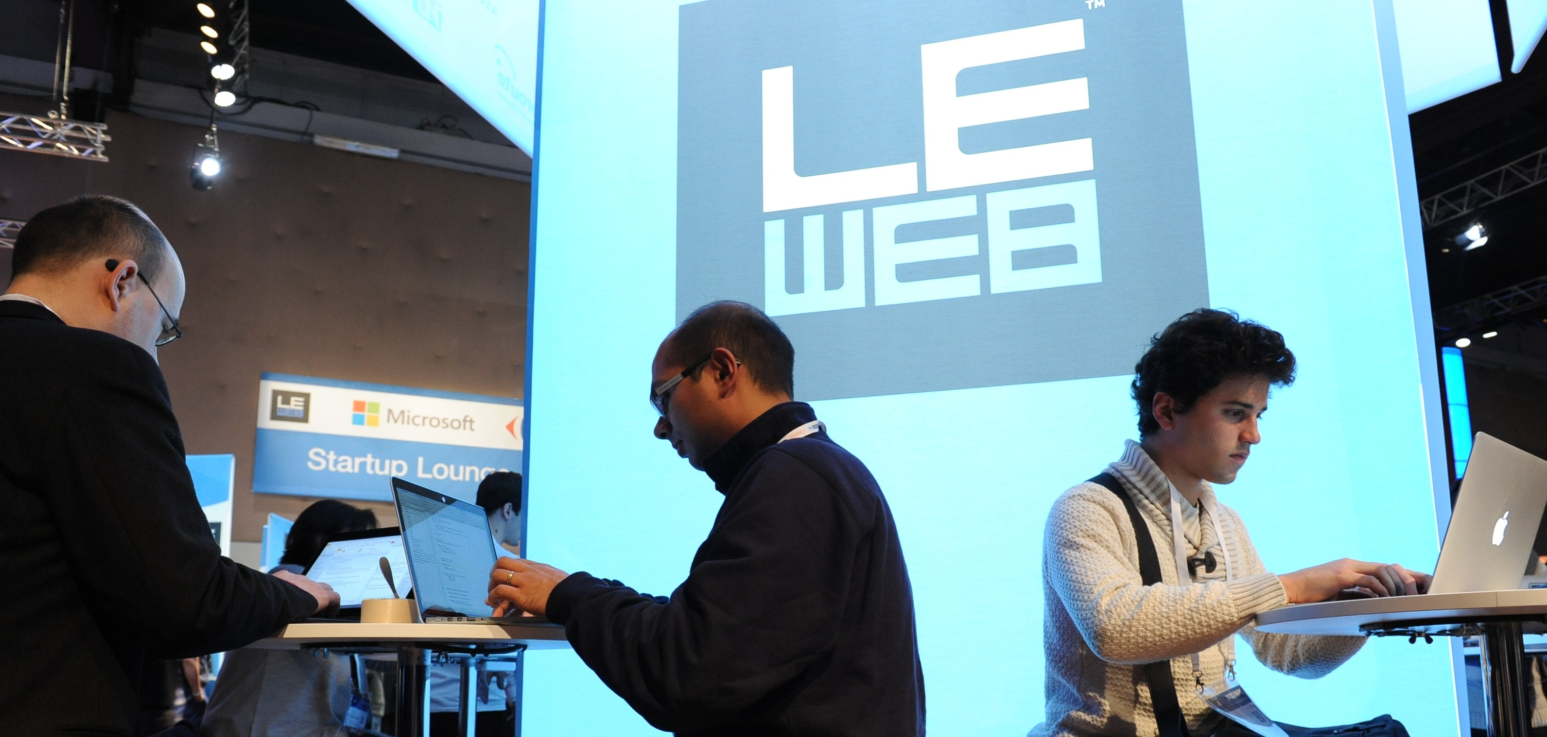 Blogging at the conference (Image: LeWeb [CC BY 2.0], via Flickr)