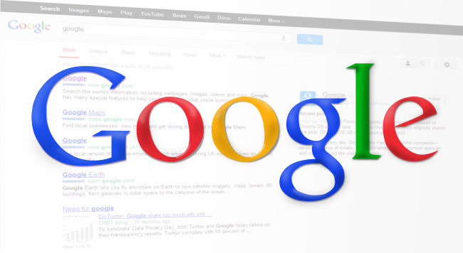 Search Engine Google (Image: Simon [CC0 Public Domain], via Pixabay)